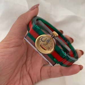 GUCCI Vintage Web watch, 24x40mm (Pre-Loved)